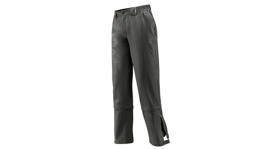 Vaude Men's Farley Stretch 3/4 T-Zip Pants long anthracite